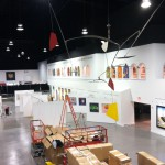 Martin-Lawrence Galleries Phase II - Set up progress north wall