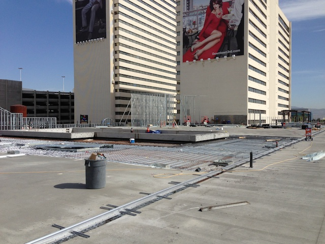 Downtown Grand Hotel and Casino - Construction Progress Photos - May 15, 2013